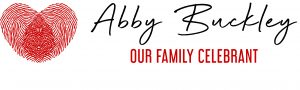 Abby Buckley Our Family Celebrant logo